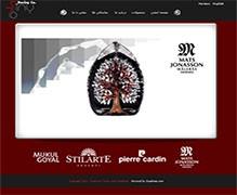 وب سایت شرکت رزینی